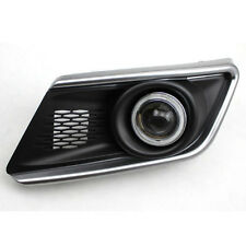 DRL COB Angel Eyes Fog lights Projector Lamp Bumper Cover For Suzuki Swift 2013