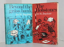 Joy M. Bagshaw Signed First Editions The Hobstones & Beyond The Grass Bank