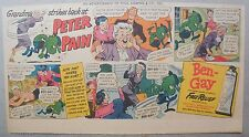 Ben-Gay Ad: Peter Pain: Grandma Strikes Back ! 7.5 x 14 inches