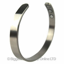 New Style Titanium Magnetic Bangle/Bracelet XL Plain Bio Magnet NdFeB Neodymium