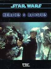 Star Wars-HEROES & ROGUES-Roleplaying Game-Supplement-WEST END GAMES-RPG-rare