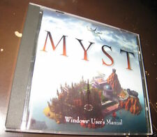 Myst DOS (PC, 1993) Case + Manual Only