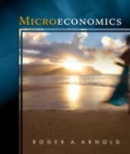 Available Titles Aplia Ser.: Microeconomics by Roger A. Arnold (2008, Paperback)