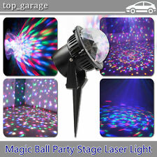 Outdoor RGB LED Stage Light Laser Projector Lighting DJ Party Disco Christmas