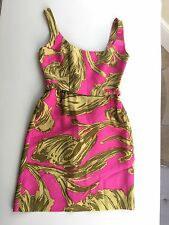 Milly Floral Silk Sun Dress New With Tags Size 10 UK