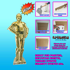 C3PO Star Wars  LIFESIZE CARDBOARD CUTOUT