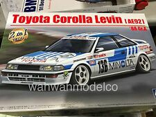 Aoshima 98240 Toyota Corolla Levin (AE92) '88 Gr.A 1/24 scale kit Ship Now