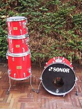 Sonor Phonic Horst Link era signature series shell set, drum set 22, 13, 14, 16.