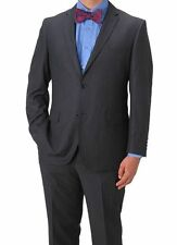 New Bertolini Men's 2 Piece Wool and Silk Blend Suit 36R/30