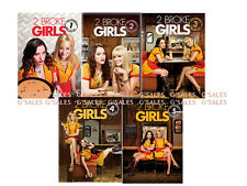 2 Broke Girls TV Series Complete Season 1-5 1 2 3 4 5 BRAND NEW 15-DISC DVD SET