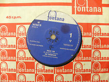 SUE THOMPSON WILLIE CAN / TOO MUCH IN LOVE fontana 267262