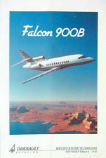 9-1991 DASSAULT AVION MYSTERE FALCON 900 B SPECIFICATIONS TECHNIQUES AVIATION