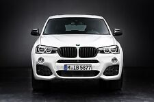 BMW F25 X3 F26 X4 High Gloss Black Kidney Grills 51712337763 51712337762 Genuine