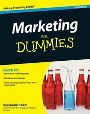 BRAND NEW - MARKETING FOR DUMMIES -BUSINESS & ECONOMICS STUDY GUIDE