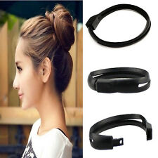 Women French Styling Hair DIY Tool Donut Bun Clip Twist Maker Holder Hair Sticks