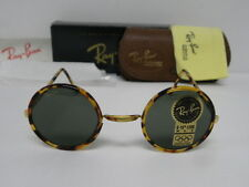New Vintage B&L Ray Ban Cheyenne Style II 2 Spotted Tortoise W1748 Round USA