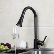 Luxury black oil rubbed finish Pull Out Kitchen Sink Mixer Tap Faucet  fg5y765et