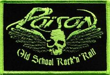 Poison Old School Rock'n Roll Patch/Aufnäher 601926 #