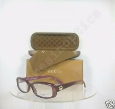 Brand New Authentic Gucci GG3567 Eyeglasses Col. WD9 GG 3567 Burgundy Frame
