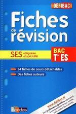 fiches de révision   SES obligatoire et spécialité   terminale ES Patouillard  V