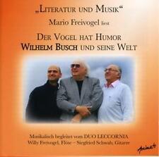 Mario Freivogel - DER VOGEL HAT HUMOR - WILHELM BUSCH UND SEINE WELT (OVP)