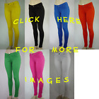 Sexy color jegging ankle ponte skinny jean pants zipper leggings many colors