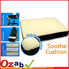 Super Comfort Fleece Foam Gel  Cushion Comfortable Sit Chair Seat