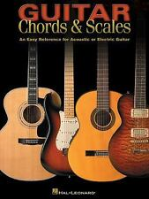Guitar Chords & Scales An Easy Reference for Acoustic or Electric Guitar