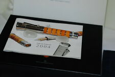 GRAF VON FABER CASTELL PEN OF THE YEAR 2004 AMBER LIMITED EDITION