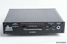 dbx 263X De-Esser, Vintage Analogue,  1/2 U rackmount