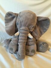 Ikea Jumbo Large Big loosely filled plush Elephant stuffed animal B3