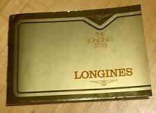 LONGINES Vintage 1979 Guarantee Warranty Admiral Lindbergh Chronograph Diver OEM