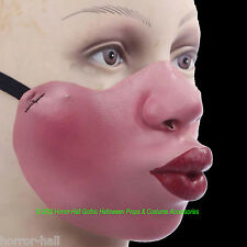 Funny Gag Gift--HALF FACE MASK--Poker Cosplay Halloween Costume Mardi Gras-KISSY