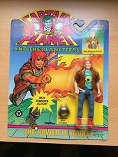 VINTAGE rare Captain Planet 1991 Action figure toy Planeteer Wheeler with RING