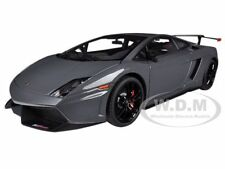 LAMBORGHINI GALLARDO LP570 SUPERTROFEO STRADALE GREY 1/18 BY AUTOART 74692