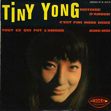 TINY YONG HISTOIRE D'AMOUR FRENCH ORIG EP CHRISTIAN CHEVALLIER