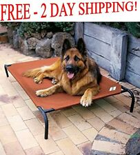 Extra Large Dog Bed Elevated Outdoor Indoor Raised Pet Cot Durable Steel Frame