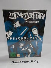 PSYCHO PASS MANDATORY HAPPINESS LIMITED EDITION - SONY PS4 - NUOVO SIGILLATO NEW