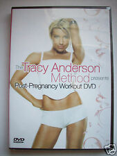 TRACY ANDERSON METHOD POST PREGNANCY WORKOUT FITNESS DVD