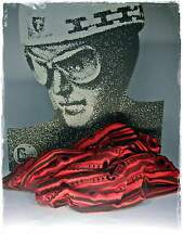 NEU 52x25cm HALSTUCH rot-braun BIKER SCHLAUCHSCHAL Batik RUNDSCHAL Kopftuch
