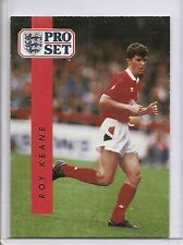 ROY KEANE 1990-91 Pro Set UK #175 ROOKIE CARD Nottingham Forest MLS Star !!