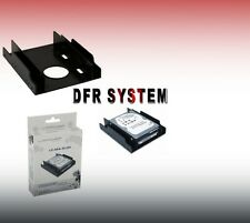 "ADATTATORE PER HARD DISK HD E SSD DA 2 ALLOGGI da 2,5'' a 3,5"" METALLO LC-POWER"