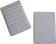 Omega Watch White Warranty Card Holder Wallet