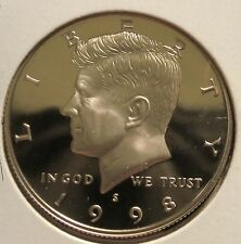 1998-S 50C (Proof) Kennedy Half Dollar