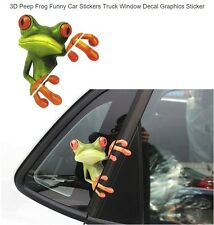 Peep Frogs Funny Car Stickers Window Decal Graphics Sticker