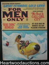 For Men Only Mar 1967 Wild Kunstler Cover/Lawrence Block