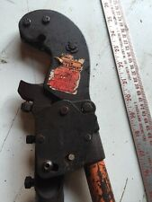 Thomas & Betts T&B TBM6S Wire/Cable Compression Tool / Crimper