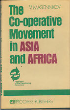 The Co-operative Movement in Asia and Africa - HC DJ USSR 1983 - V. Maslennikov
