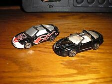 RARE Vintage Lot of 2 Matchbox 1990's Pontiac Firebird Formula V8 T-Tops Ram Air