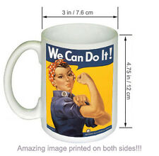 We Can Do It Rosie the Riveter Vintage World War II Two WW2 WWII USA Military CO